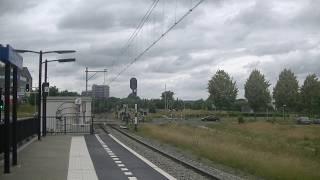 Arriva Flirt 453+462+463 komen door station Heerlen de Kissel