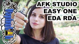 AFK STUDIO EASY ONE EDA RDA. Дрипка на испарителях
