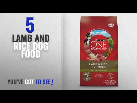 Top 5 Lamb And Rice Dog Food [2018 Best Sellers]: Purina ONE SmartBlend Lamb & Rice Formula Adult