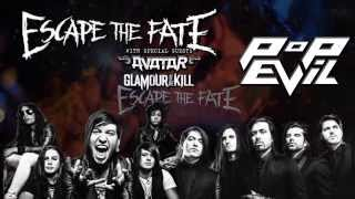 Escape the Fate/Pop Evil Tour Trailer
