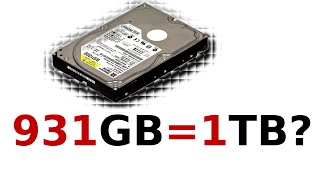 The Misconception about Your Hard Drive Capacity