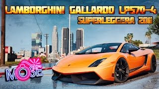 GTA 5 MODS - Lamborghini Gallardo LP570-4 Superleggera 2011
