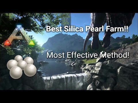 Ark How To Farm Thousands of Silica Pearls ! - ARK SURVIVAL EVOLVED ( PS4,  PC, XBOX ONE )