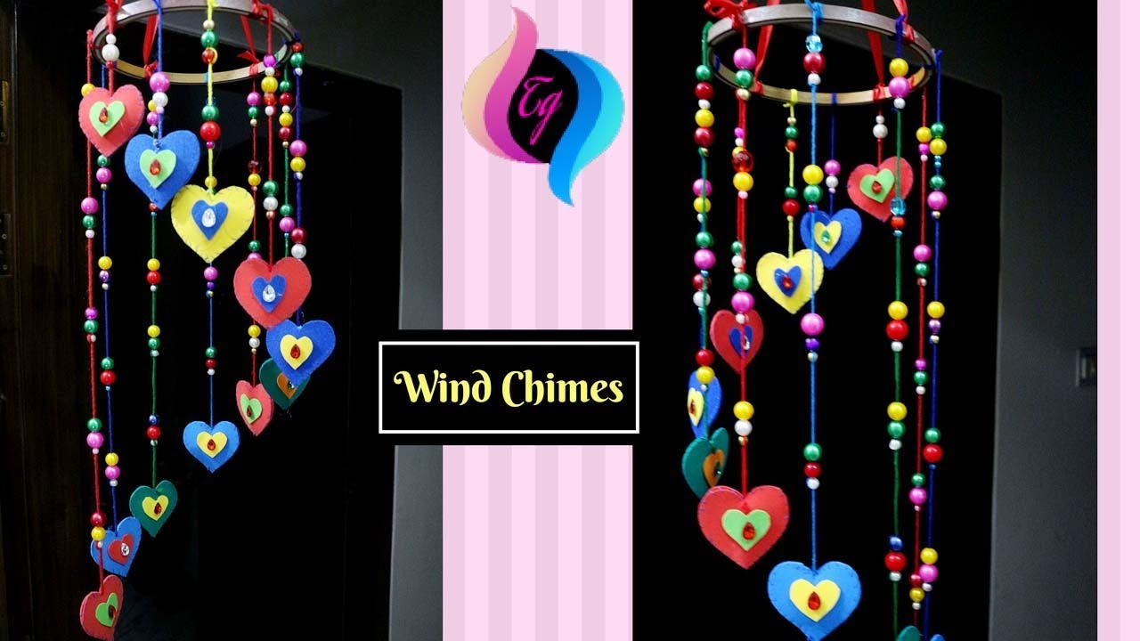How To Make Wind Chimes Out Of Paper Paper Wind Chimes