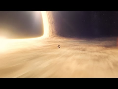 Interstellar Black Hole Scene Music Video Approaching The Event Horizon Youtube