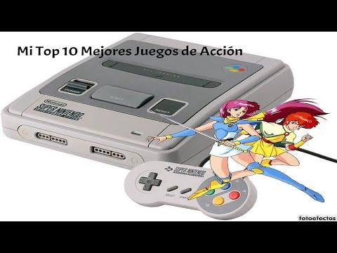 Mi Top 10 Mejores Juegos De Accion De Snes Youtube