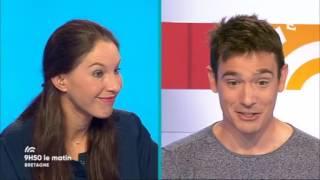 23 mai 2017 - Jérôme Bahuon, pour la Traversée Biggod, était l'invité du 9h50 sur France 3.