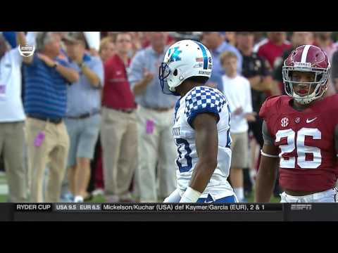 2016 Kentucky vs. #1 Alabama (HD)
