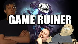 Dota 2: Arteezy - Dealing with Game Ruiner | Give Advice without Sounding Rude