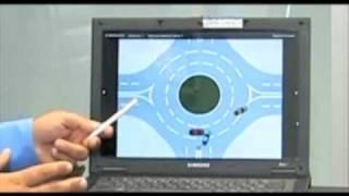 Жара на перекрестке с круговым движением. Ч.1