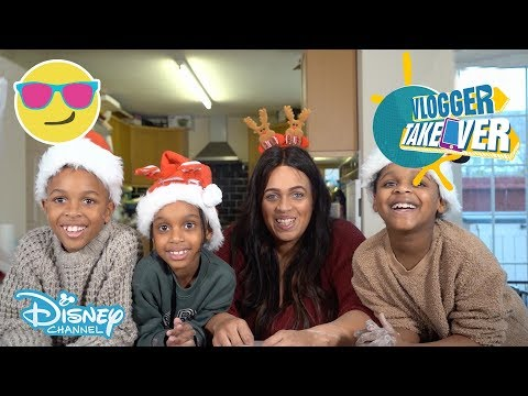 Vlogger Takeover | Miraculous Xmas Baking! | Disney Channel UK