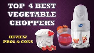 Best Electric Vegetable Choppers & Cutter  - Review Pros Cons & Price List