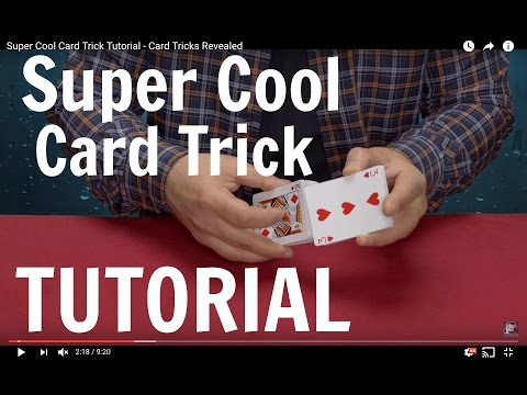 Super Cool Card Trick Tutorial