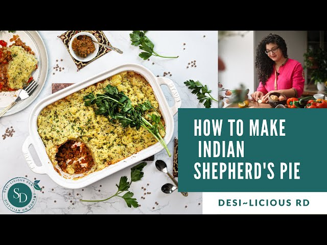 How To Make Indian Shepherd's Pie | Healthy Vegan Dinner