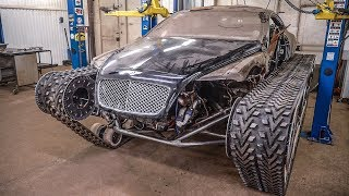 Bentley Ultratank. The body is on the chassis.