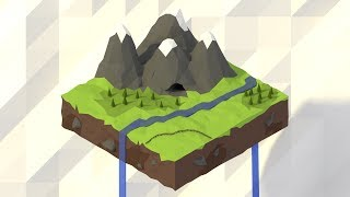 | PigArt | BLENDER Timelapse: Low poly isometric work