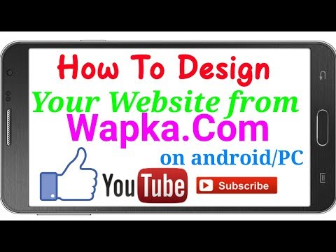 Wapka.mobi all design codes