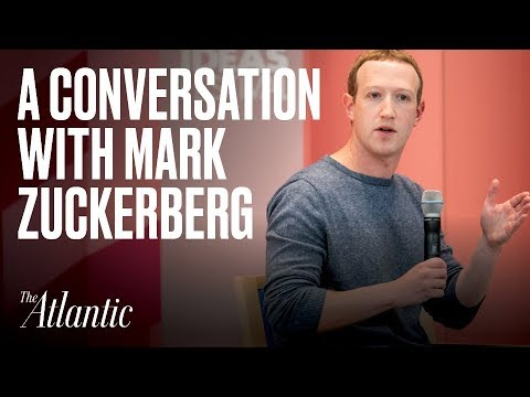 A Conversation With Mark Zuckerberg
