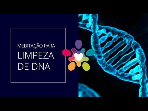 Meditação de limpeza do DNA