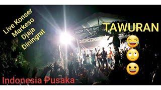 Indonesia Pusaka | Reggae | Cover Markeso Dj Diningrat | Tawuran Tonton sampai Menit akhir | 2019