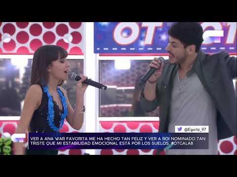 Aitana se emociona al cantar 'no puedo vivir sin ti' con Cepeda   OT