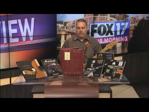 108 Rock Star Guitars & other Music Books - FOX 17 Rock & Review