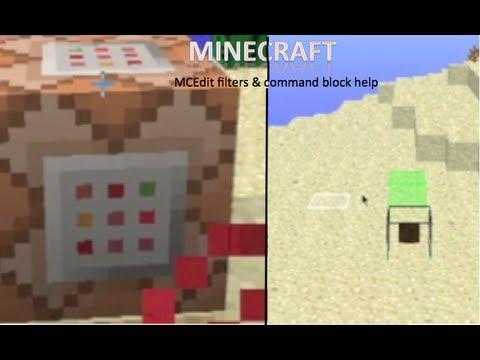 Mob Spawners Spawn Entities! On A Mac (MCEdit Filters) Part 2 + (command Block Help)