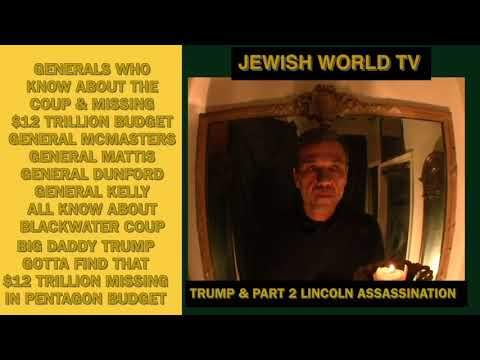 Jewish World TV Episode 2012 Pt 2 Lincoln Assassination