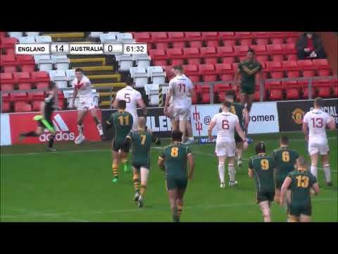 Highlights: England Academy 14-8 Australian Schoolboys
