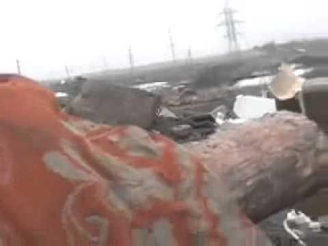 В сети появилось видео боя, в котором было уничтожено пять российских танков Т 64 и Т 72