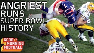 Top 4 Angriest Runs in Super Bowl History | Good Morning Football | NFL Network