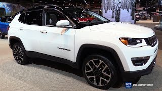 2019 Jeep Compass Limited - Exterior and  Interior Walkaround - 2018 Chicago Auto Show