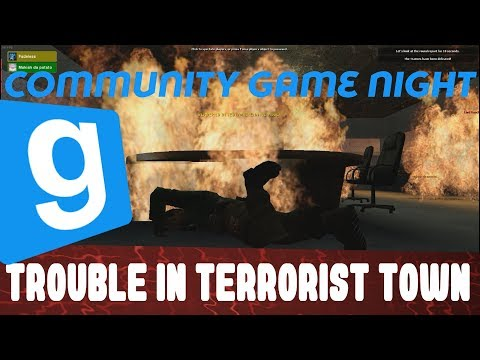 Community Game Night: Terrorist Bombing Globally Fuses Friends Together In Gmod (Garry's Mod)