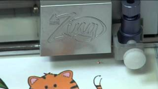 knk zing icing print and cut with photofrost