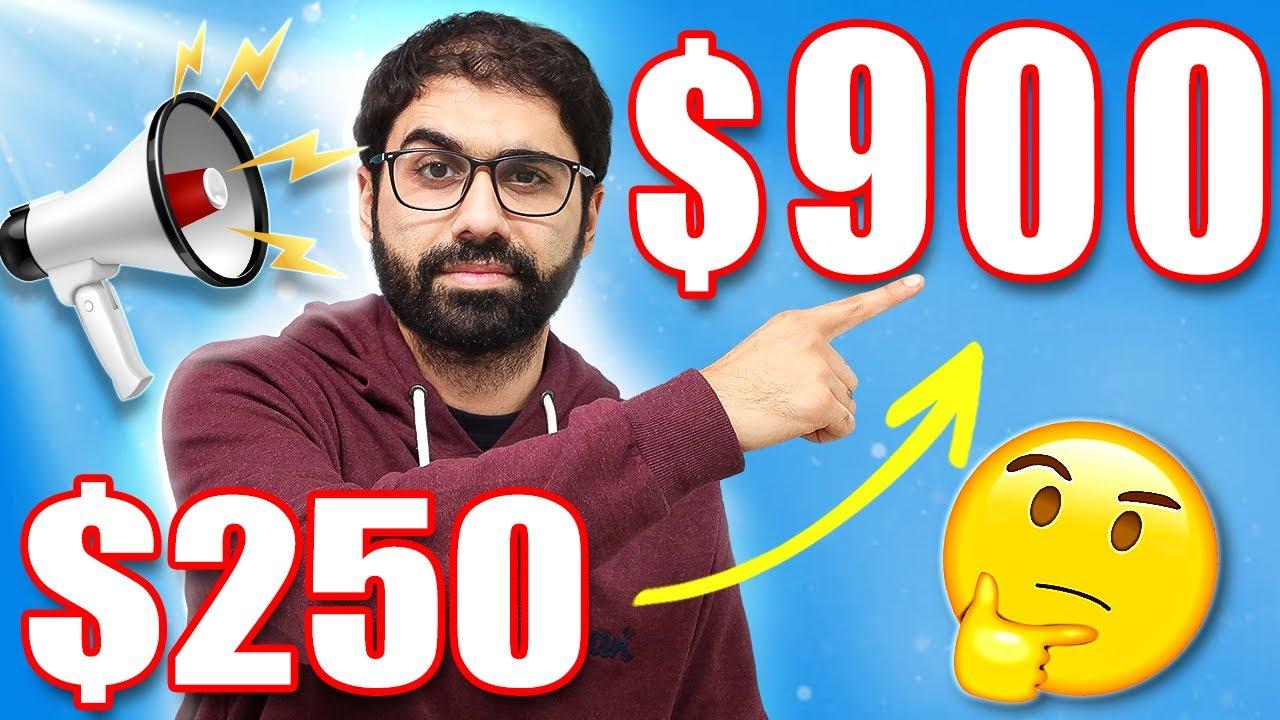 500$ in 3 Days in a WEIRD Way! (Full Case Study Working Online)