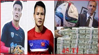 """Đại Gia Châu Âu Chi Tiền Kh ủ g Để """"Mua"""" Quang Hải U23 VN #165"""