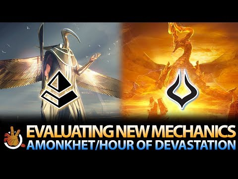 Evaluating New Mechanics: Amonkhet / Hour of Devastation | The Command Zone #168 | Commander Podcast