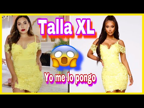 PROBANDOME TODA LA ROPA XL DE FASHION NOVA