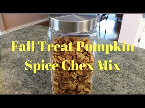 Fall Treat Pumpkin Spice Chex Mix