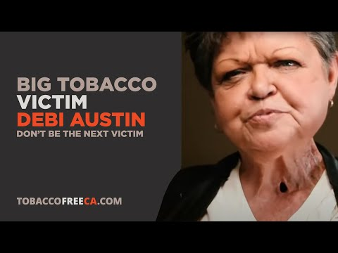 "Debi Austin ""Stages"" Ad - Tobacco Free CA"