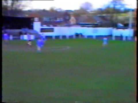 Stephen Rayner - Gooooaallll - 1-) Collingham Colts v Harlow 1990 Cup Final