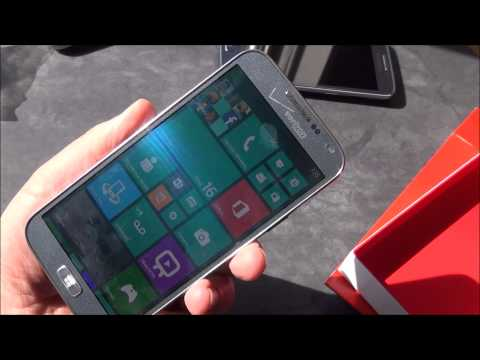 Verizon Samsung ATIV SE Unboxing and Hands on