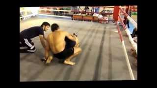 georgian fighters shalva mamacashvili VS AZE fighters Emin Huseynov MMA