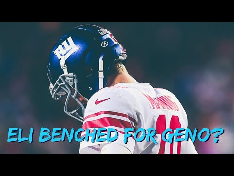 Eli Manning benched for Geno Smith, is this the end of an era?