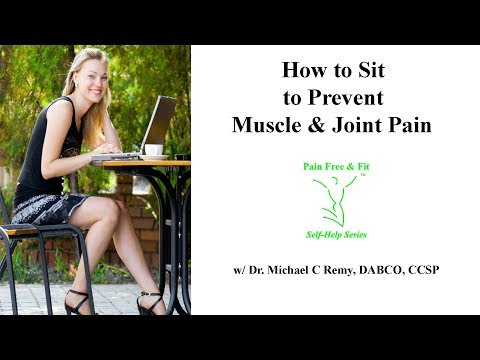 Sitting Posture to Avoid Muscle & Joint Pain