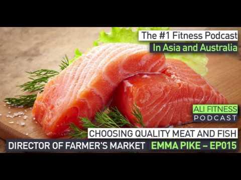 Ali Fitness Podcast Episode 015: DIRECTOR OF FARMER'S MARKET EMMA PIKE