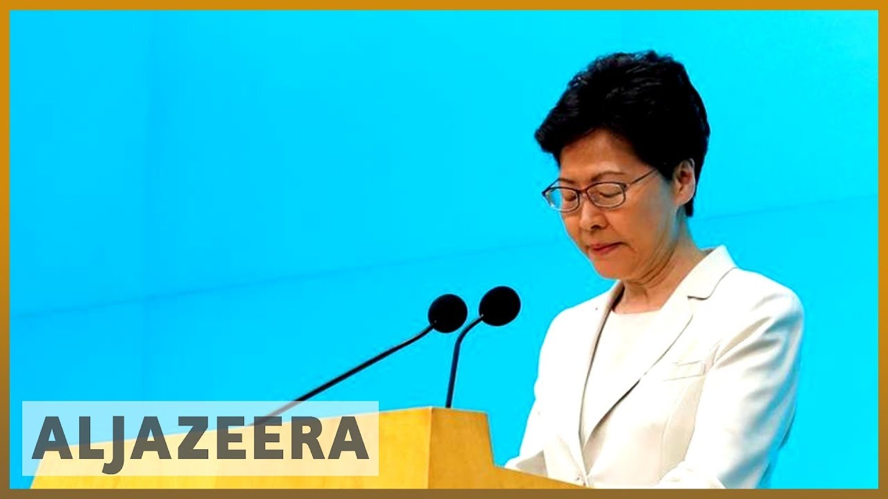 AlJazeera English:Hong Kong leader offers 'most sincere apology' as bill may expire