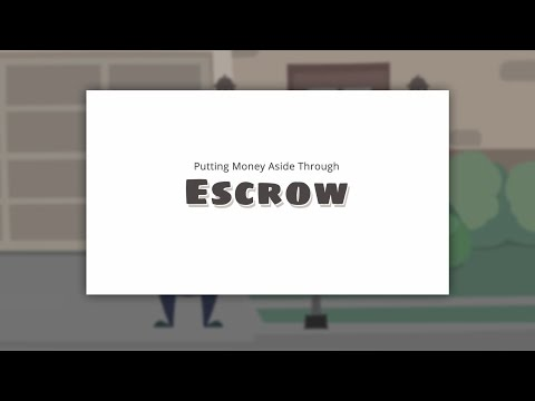 Putting Money Into Your Escrow Account