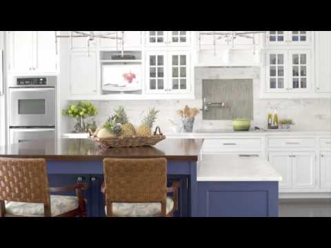 Kitchen Design Ideas - Blue Color Scheme Ideas