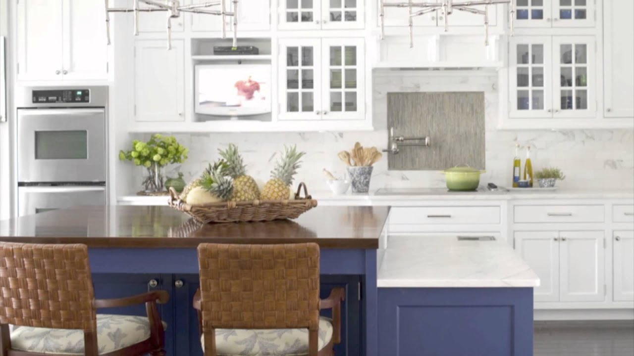 Kitchen Design Ideas - Blue Color Scheme Ideas - YouTube